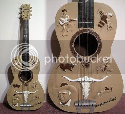 Plastic Western Guitar
