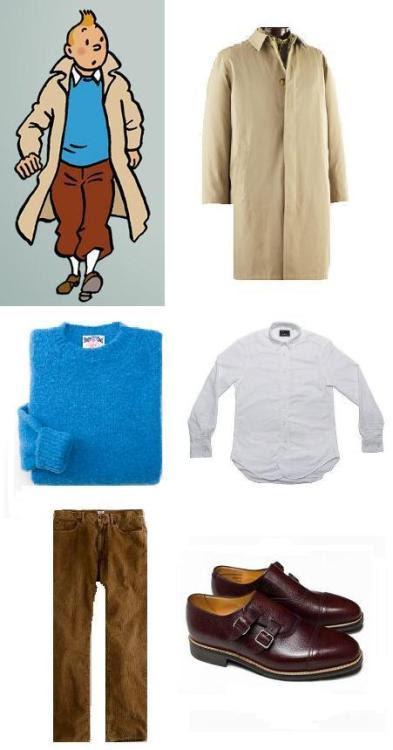 Tintin's wardrobe