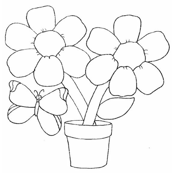 Easy Garden Drawing For Children Contoh Soal Pelajaran Puisi Dan Pidato Populer