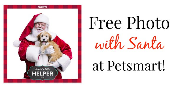 FREE Photo of Your Pet with Santa at Petsmart 12/10 & 12/11