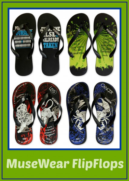 Enter the Musewear Flipflops Giveaway. Ends 6/15.