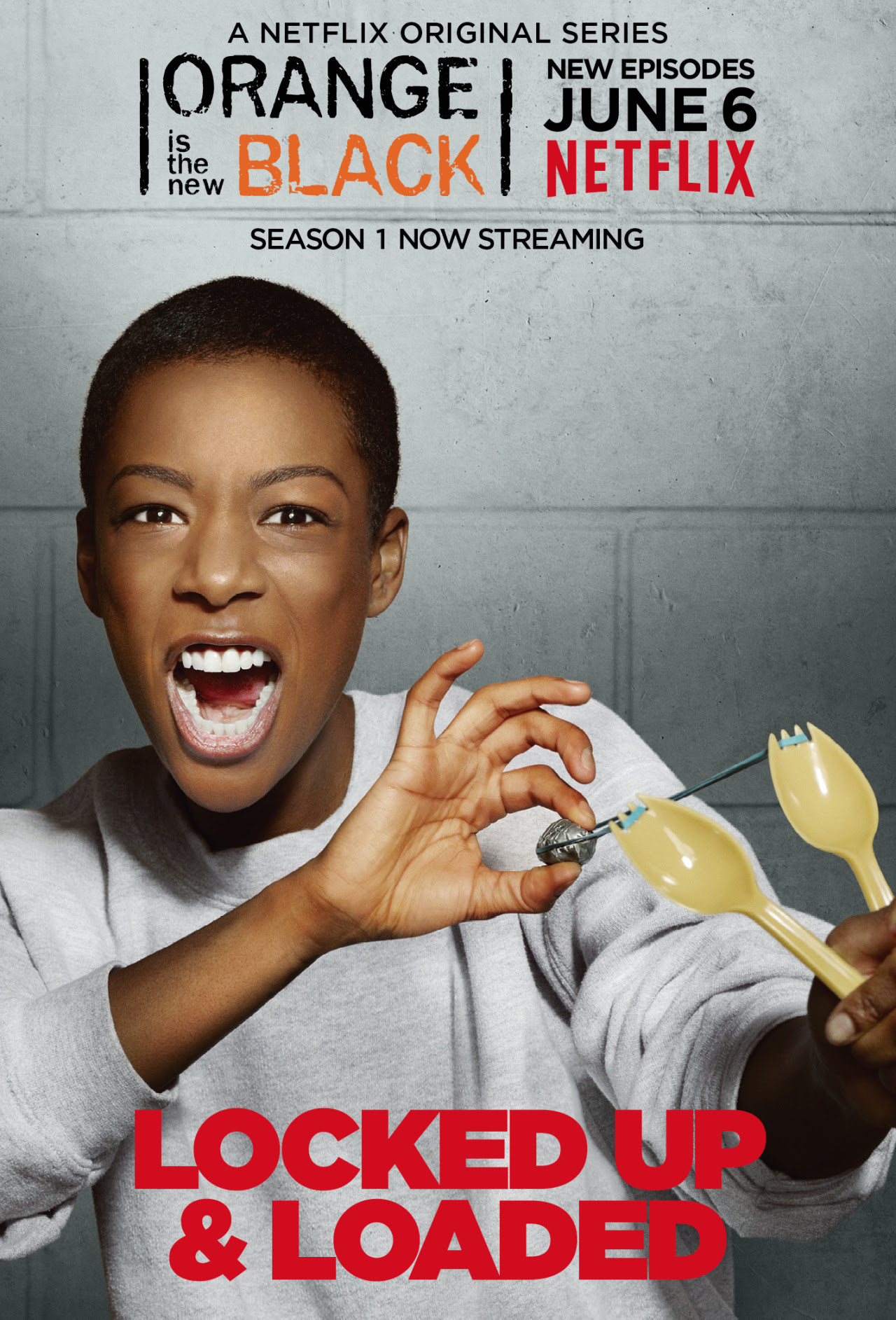 Poussey - Locked Up & Loaded.