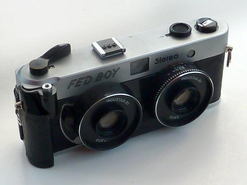 FED BOY stereo camera by pho-Tony