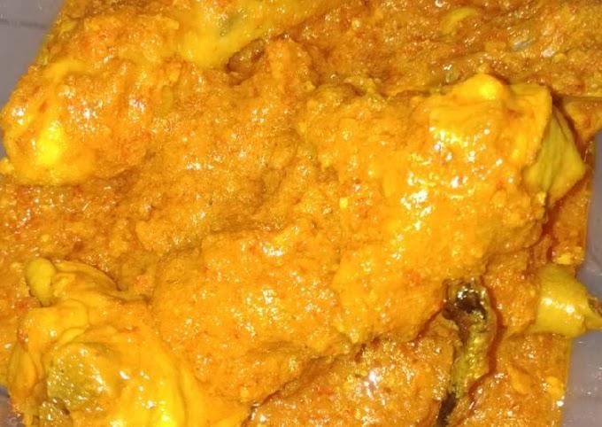 Resep Mudah Rica-Rica Ayam Anti Gagal