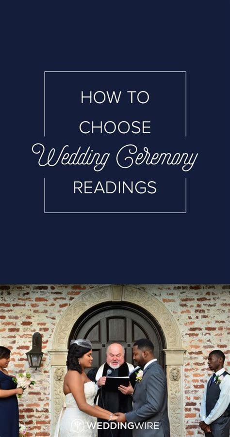 Best 25  Wedding ceremony readings ideas on Pinterest
