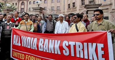 10 Lakh Bank Employees To Go On One Day Strike Today