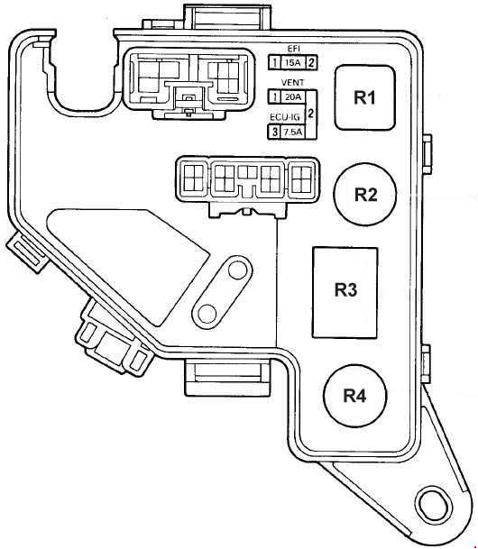 35 1989 Toyota Camry Fuse Box Diagram Wire Diagram Source Information