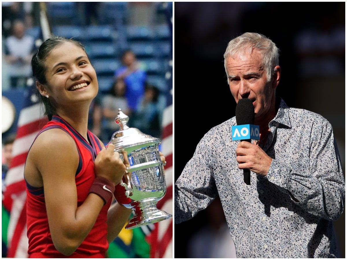 Emma Raducanu: John McEnroe stands by controversial Wimbledon comments