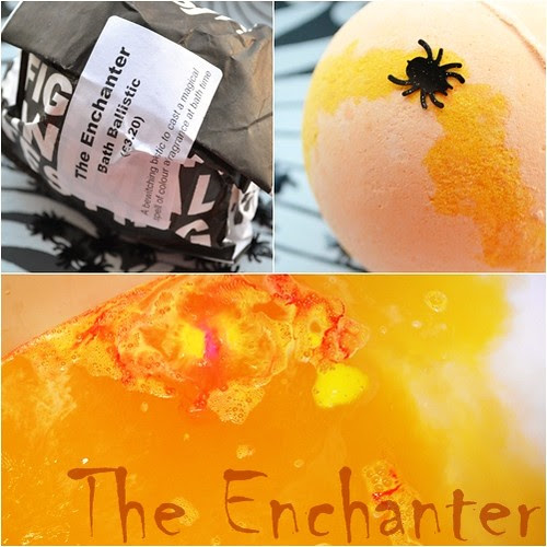 Lush The Enchanter hallowen bath bomb