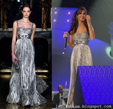 Lebanese Fashion: Nancy Ajram in Lebanese Designers