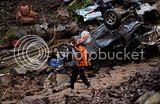 Dahsyatnya banjir Manado !