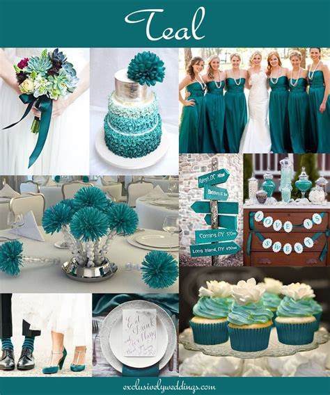 Teal blue wedding ideas   Teal blue   Popular wedding