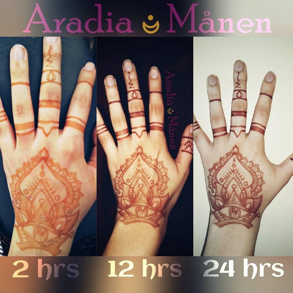 Cómo Cuidar Su Tatuaje Henna Aradiamånen