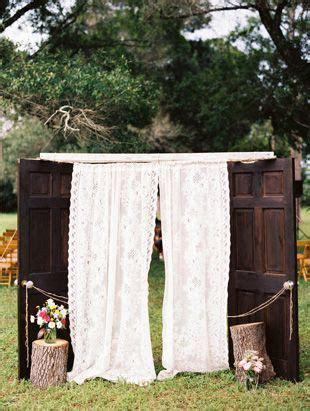 25  best ideas about Outdoor wedding doors on Pinterest