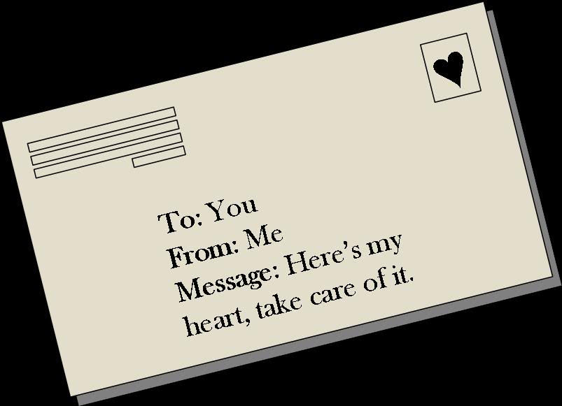 Heres My Hearttake Care Of It Being In Love Quote