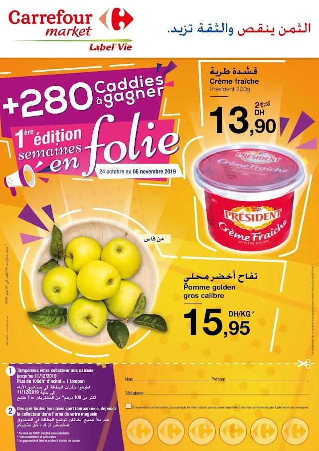Catalogue Carrefour Market Maroc - 24 Octobre Au 6 Novembre 2019