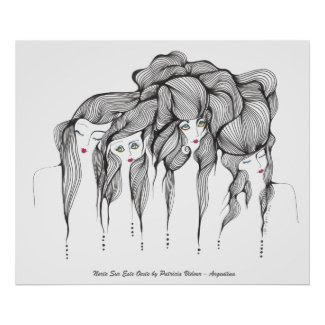North South East, West zazzle_print