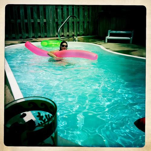hangin' in the pool
