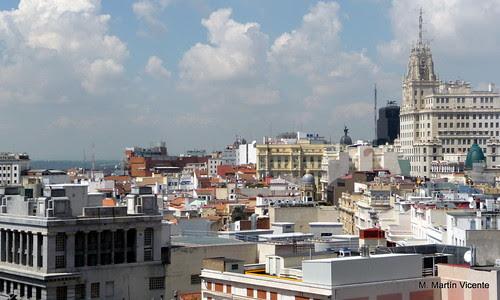 Remates, tejados y azoteas de Madrid