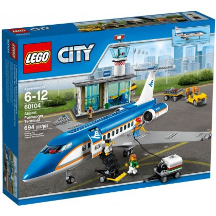 LEGO CITY 60104 Lotnisko - Terminal pasażerski