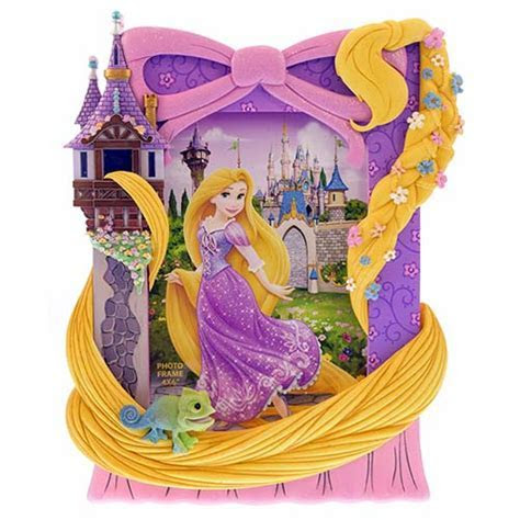 Disney Picture Frame   Signature Series   Rapunzel   4 x 6