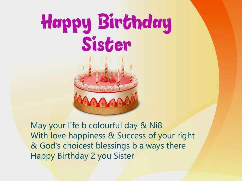 Image Happy Birthday Sister