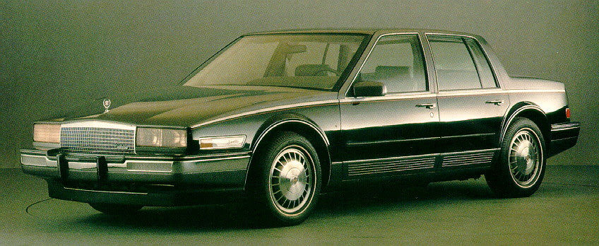 Curbside Classic: 1986-91 Cadillac Seville - The Sales in ...