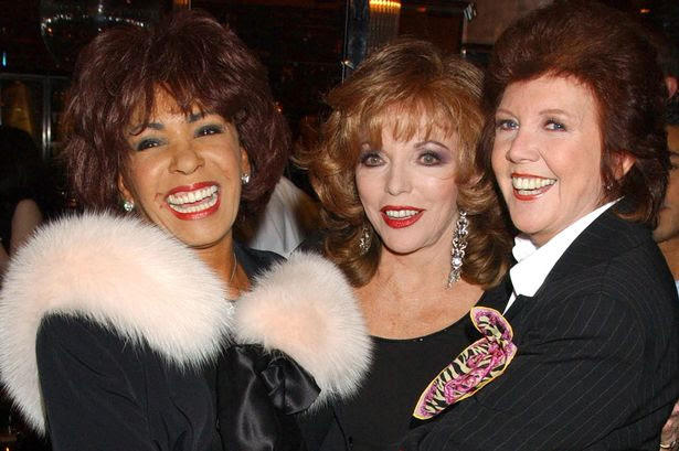 Dame Shirley Bassey, Joan Collins and Cilla Black, 2004