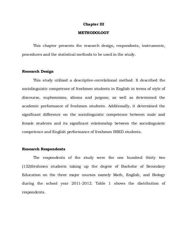 Sample research design in thesis resume samples for journalist
