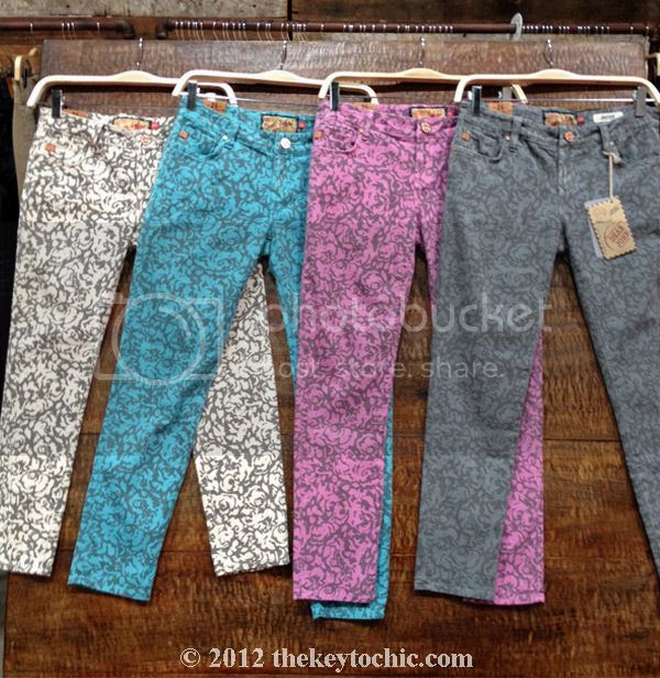 Dear John denim, rose print jeans