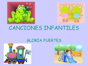 CANCIONES CON POESÍAS DE GLORIA FUERTES