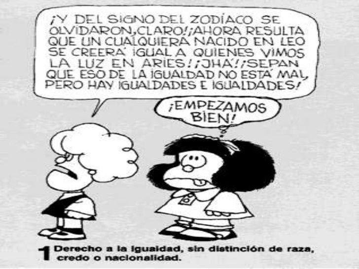 Resultado de imagen de derechos mafalda