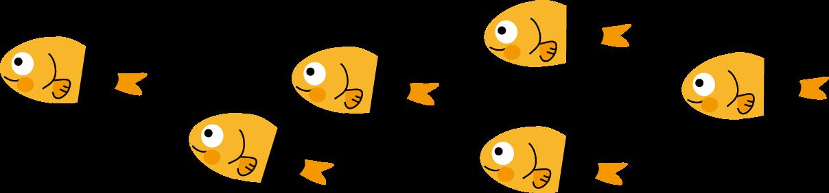魚のイラスト無料イラストフリー素材