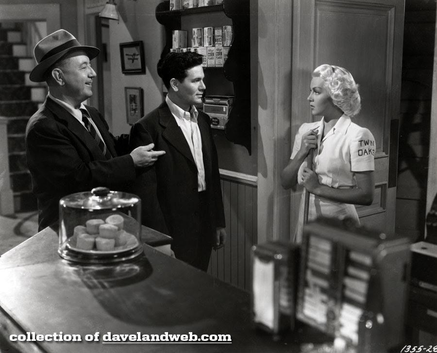 Cecil Kellaway, John Garfield, and Lana Turner in The Postman Always Rings Twice photo