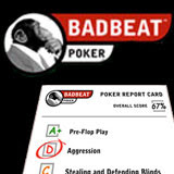 MyGame Free Poker Training at Badbeat com Features Play and Fix System that Analyses Actual Play