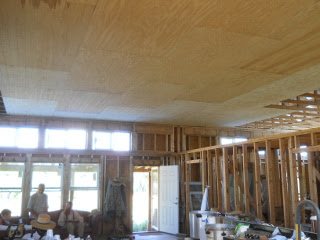 East End of Great Room with Main Paneling Done