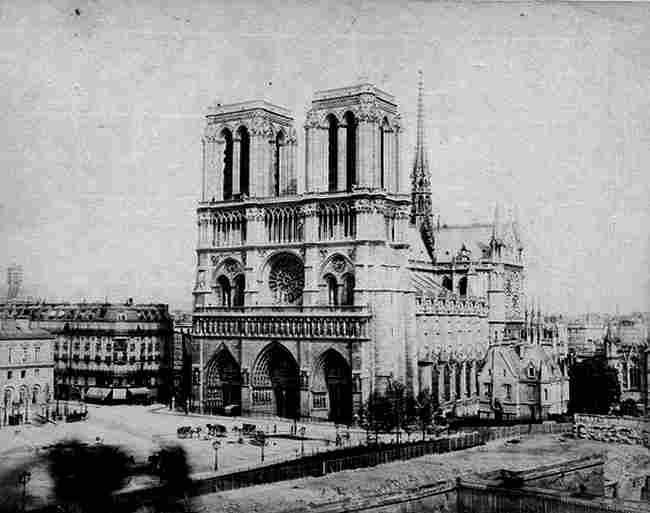 Notre Dame Photos Anciennes Et Dautrefois Photographies