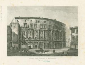 Avanzi del Teatro di Marcello,... Digital ID: 1624178. New York Public Library