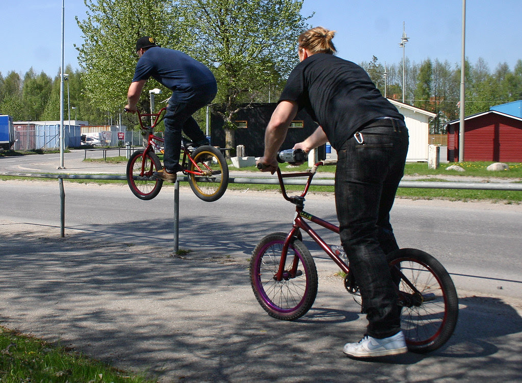 The BMX Riders