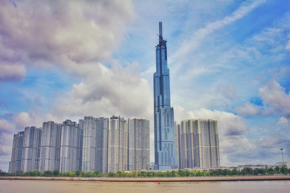 Cận cảnh công trình cao nhất Việt Nam