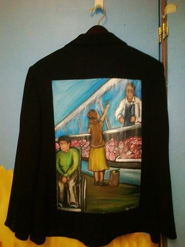 """""""Out of Reach"""" a jacket for JoAnn Klinedinst"""