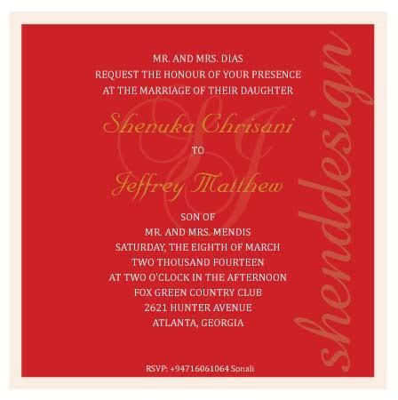 Homecoming Wedding Invitation Template   shenddesign studio