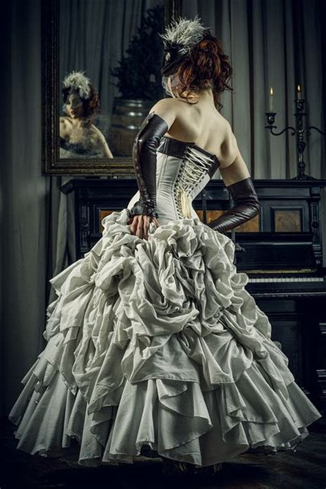 Best 25  Steampunk wedding dress ideas on Pinterest