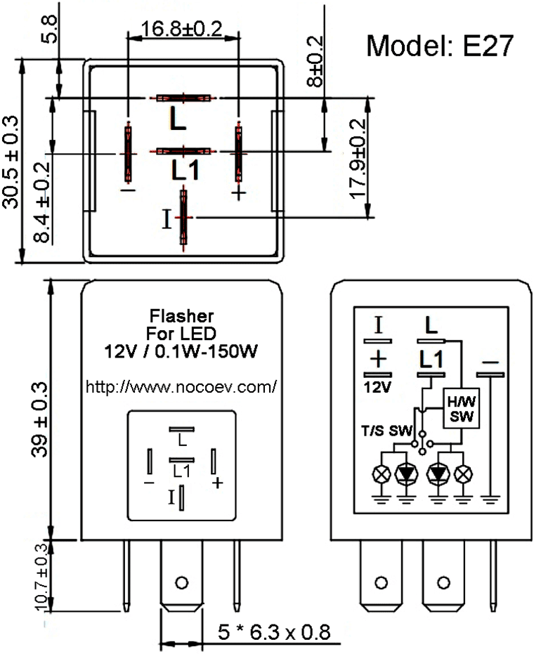 12 Volt 556 Led Flasher Wiring Diagram Gto Wiring Harness Fuses Boxs Sehidup Jeanjaures37 Fr