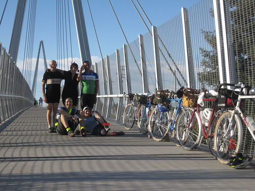 Our team, our bikes...