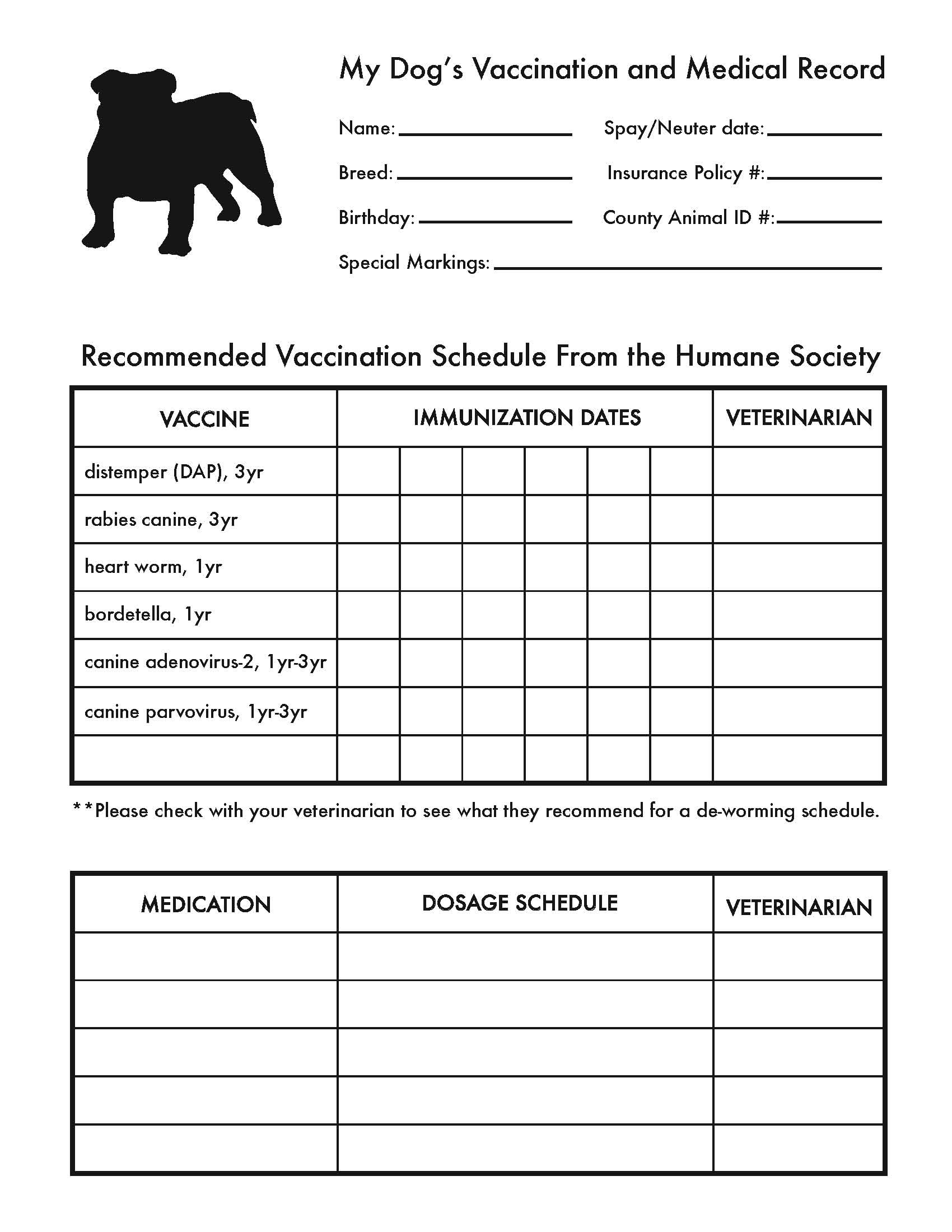 Juicy image within dog shot records printable
