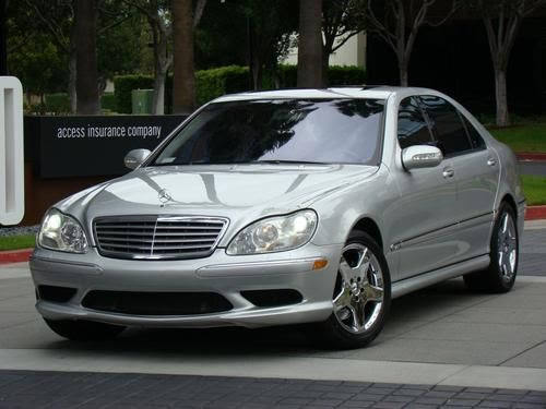 Find used 2004 MERCEDES BENZ S600 KEYLESS GO SPORT PACKAGE ...