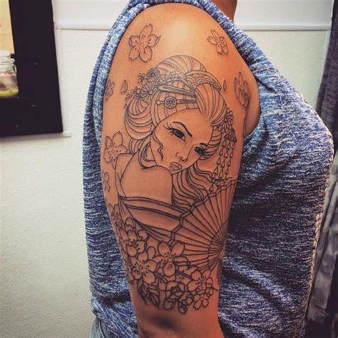 geisha tattoo ideas  exotic  meanings