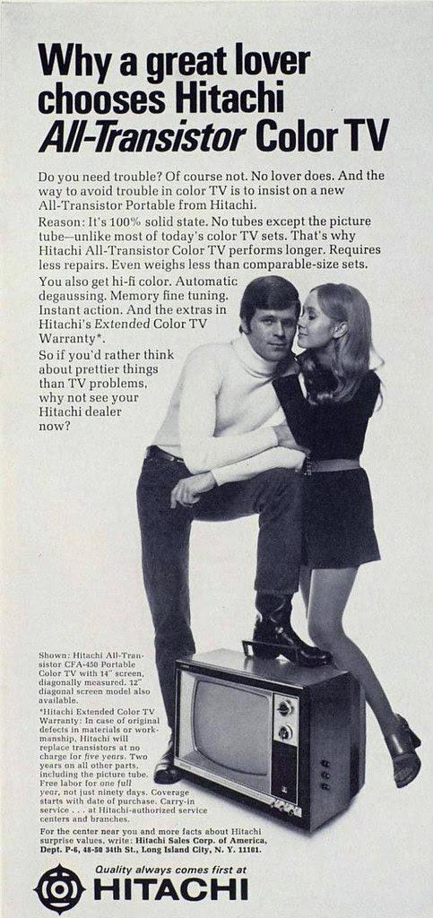 Hitachi ad 1970