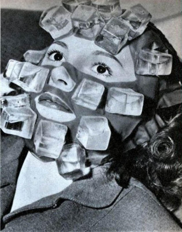 Ice mask for hollywood stars